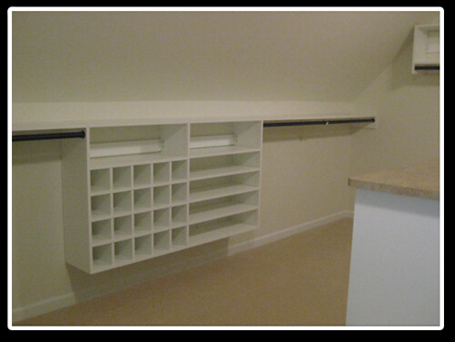 Sloped Ceiling Closet Solution By Libertyclosetsystems