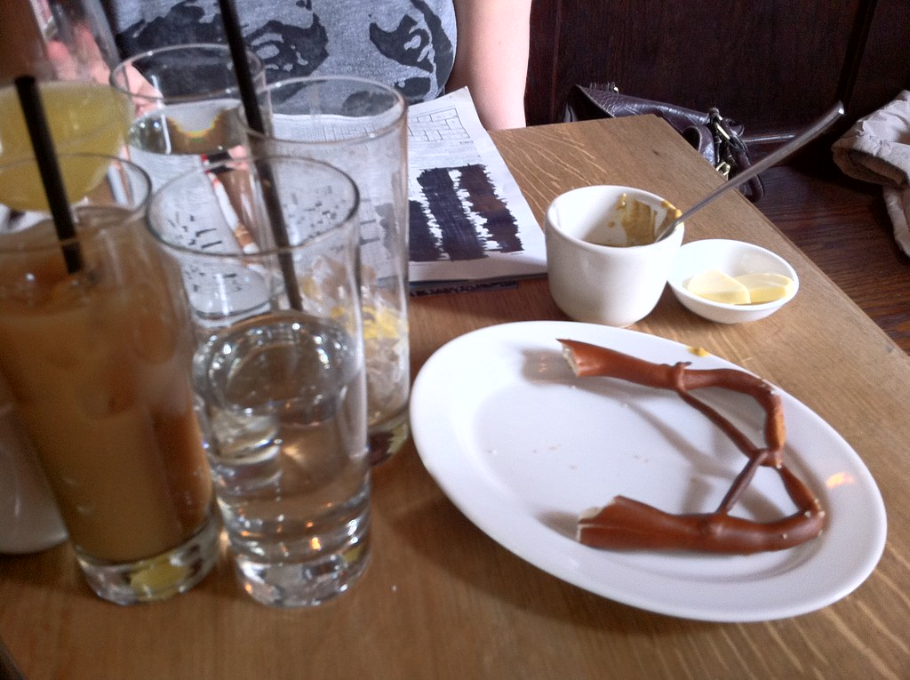 Beverages Crossword Pretzel Prime Meats Carroll