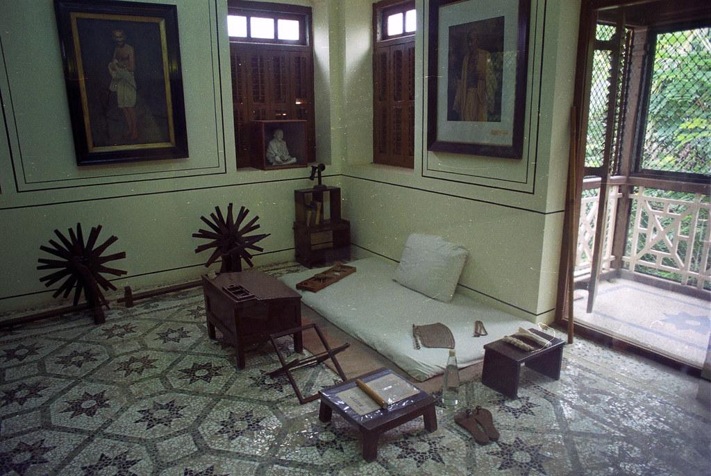 mumbai mani bhavan gandhi sangrahalaya interior gandhi. Black Bedroom Furniture Sets. Home Design Ideas