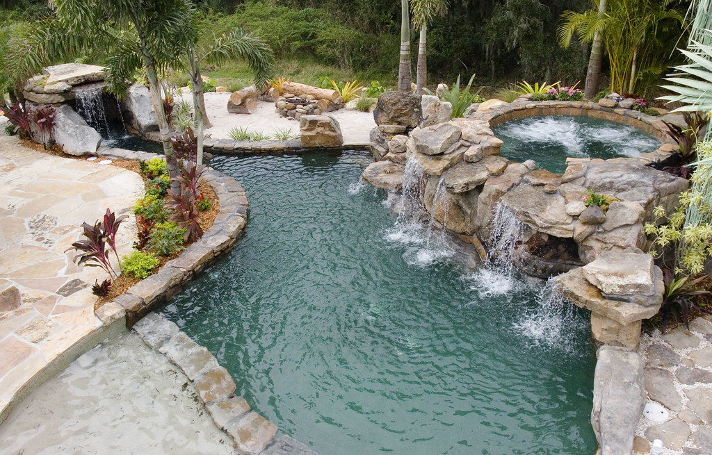 10 complete outdoor designs of swimming pools the. Black Bedroom Furniture Sets. Home Design Ideas