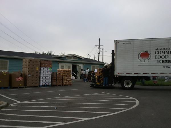 Food Bank Distribution Boxes