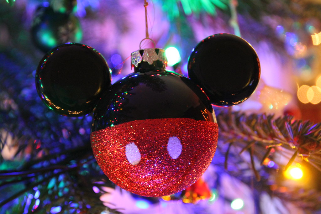 Mickey Mouse Christmas Bauble Disneys Days Of Flickr
