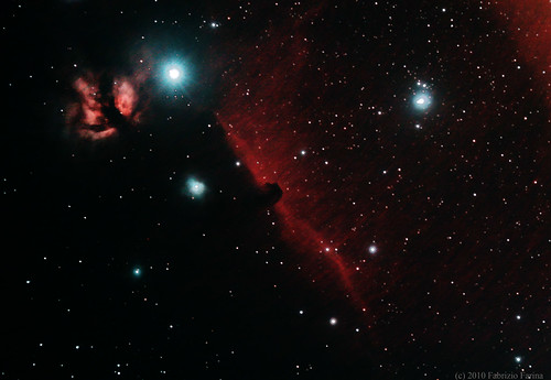 IC 434 and HorseNebula | by fabrizio farina