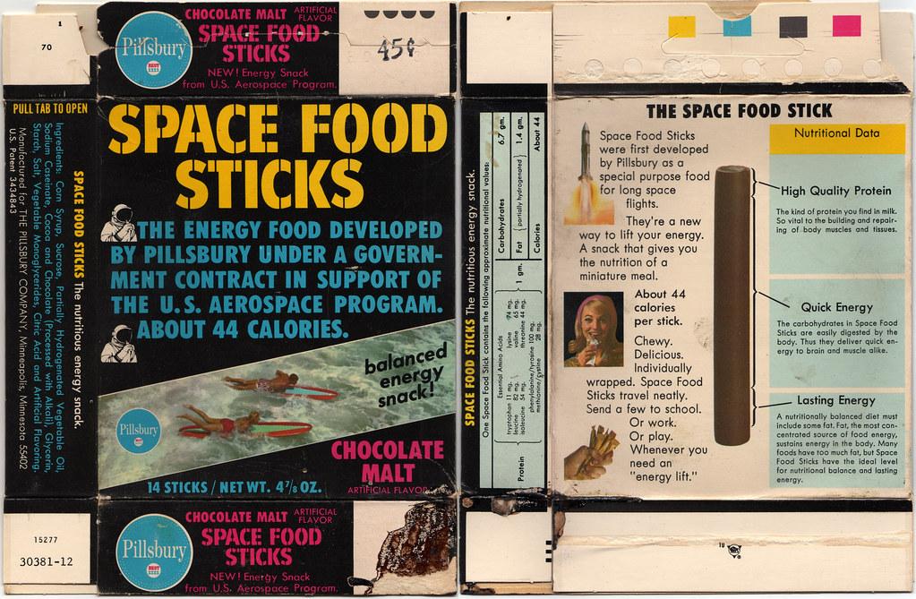 Chocolate Space Food Sticks Recipe