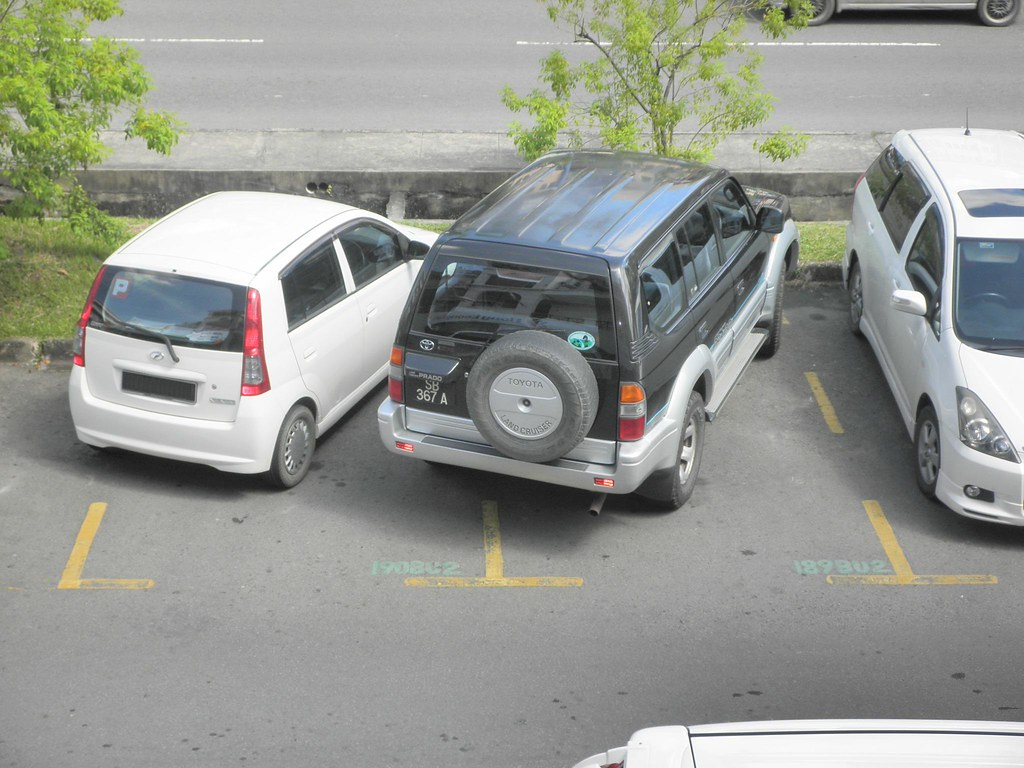 Bad Parking By Toyota Prado Walking On This Is Another