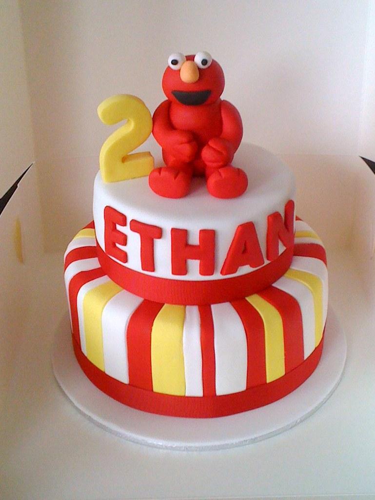 Elmo Cake Two Tier Elmo Cake Cake Envy Flickr