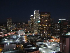 View of Los Angeles downtown