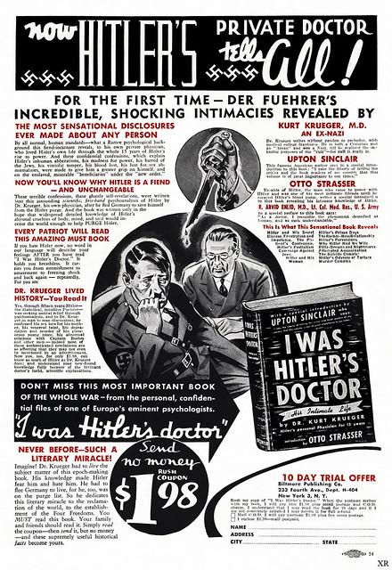 1944 hitler 39 s doc tells all flickr photo sharing for Hemorrhoid smells like fish