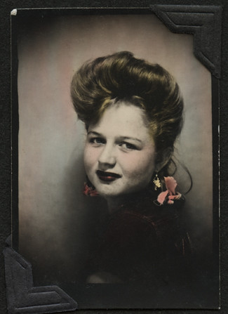 Hand Tinted Photobooth, Great Smile | by AtypicalArt