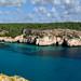 Panorama of Cala Macarella - Menorca
