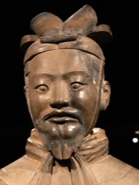 Terracotta Warriors Face Terracotta Warrior Army