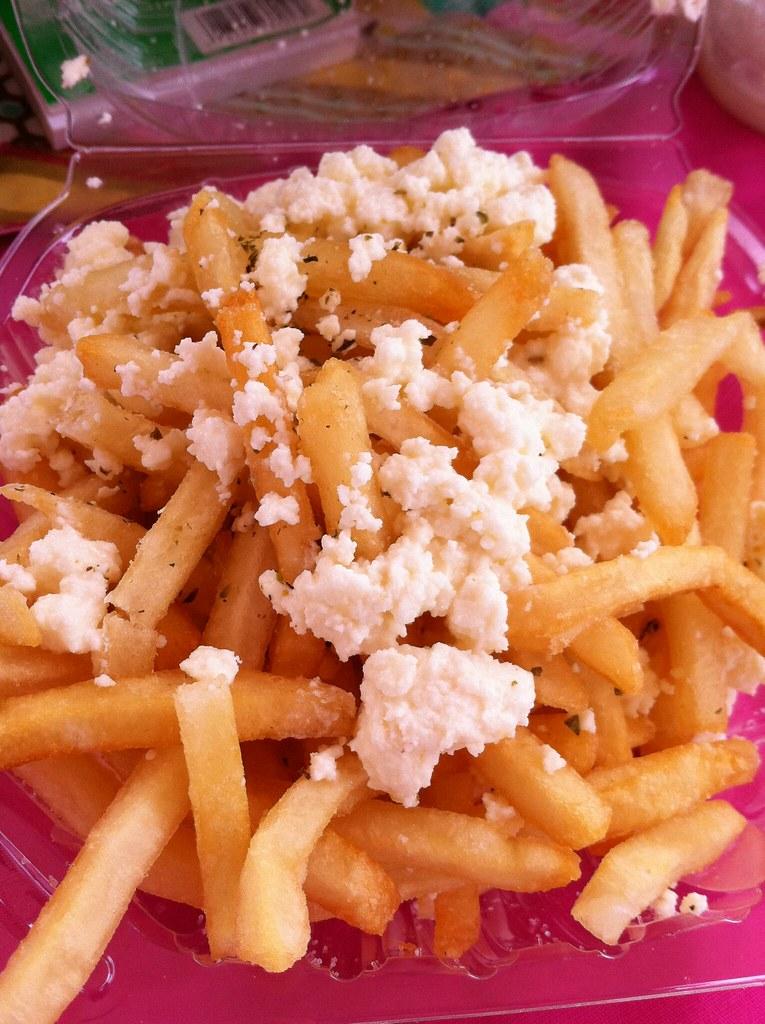Feta Fries from Louks To Go | OC Food truck | kristin_a (Meringue Bake ...