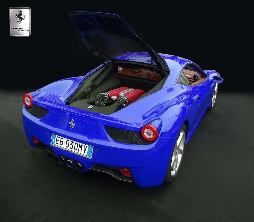 ferrari 458 italia blue by gordon calder 5 million views thanks - Ferrari 458 Italia Blue