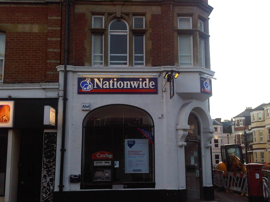 Nationwide Building Society Burton On Trent Branch