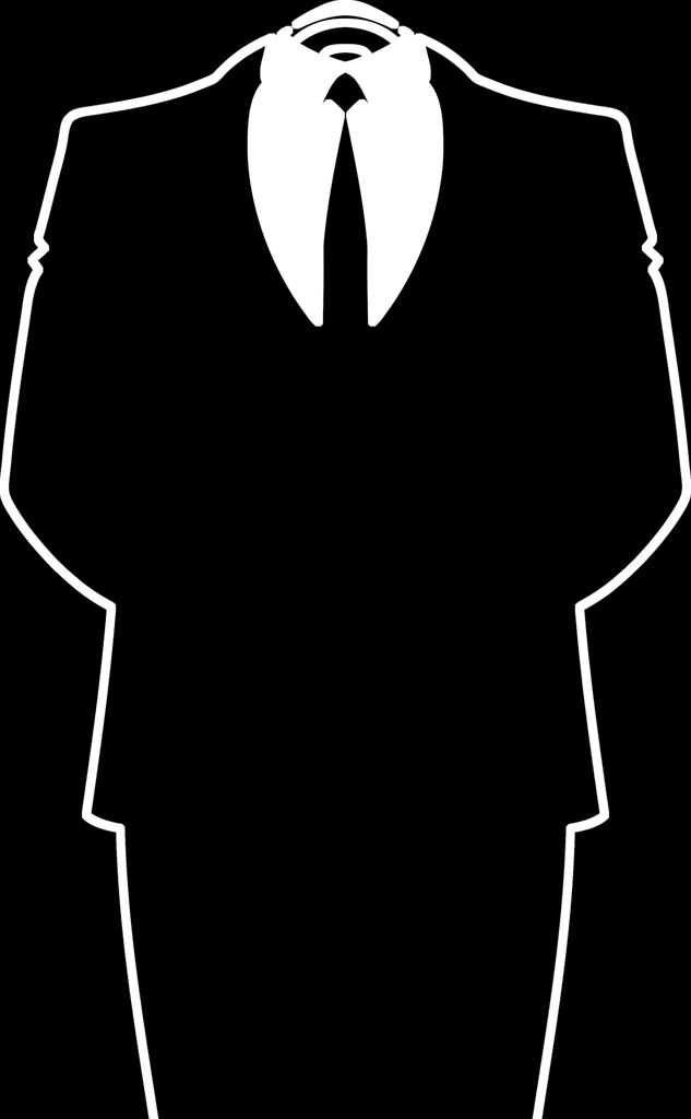 Anonymous-Suit-black High Resolution PNG (2404 x 3890) - Flickr