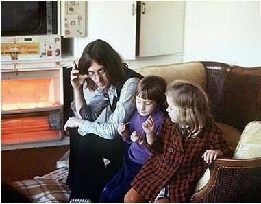 John And Julian Lennon Someone Said The Little Girl