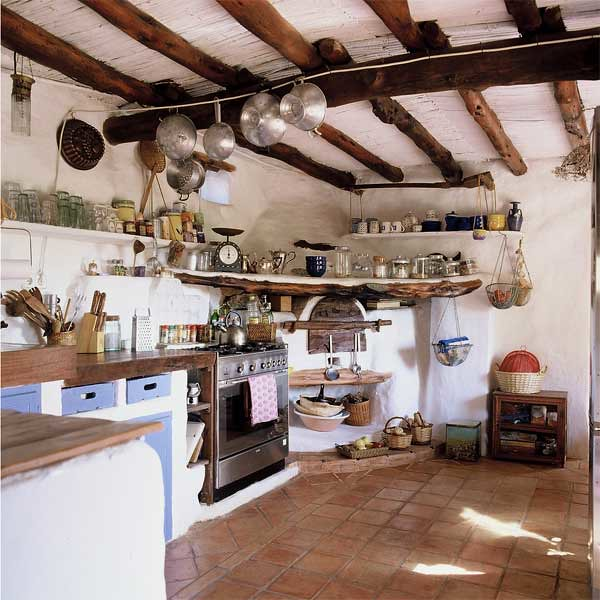 Rustic Kitchen Jobs: Rustic Bohemian Kitchen