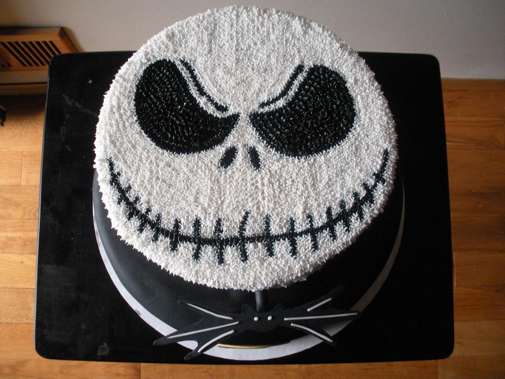 Images Of Jack Skellington Cakes