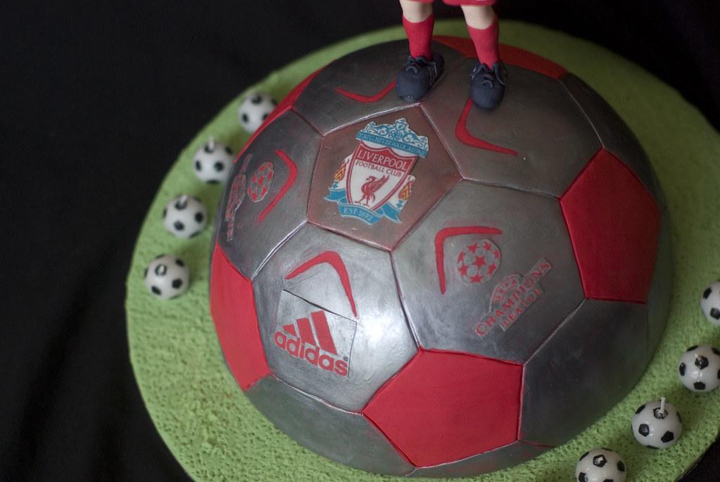 Liverpool Football Cake Tesco