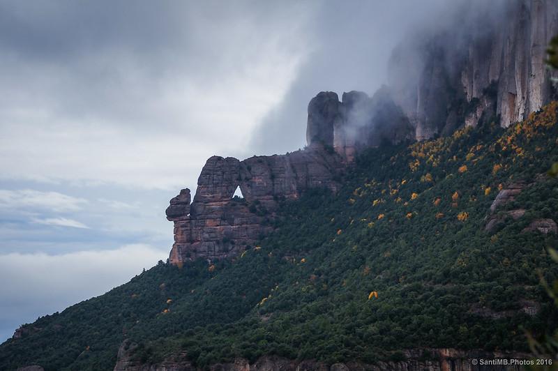 La Cadireta y la Roca Foradada