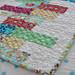 'Random Reflections' baby quilt