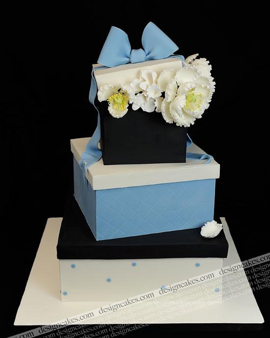 gift box cake Christine Pereira Flickr