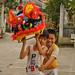 Vietnamese Kids Practicing Dragon Dance