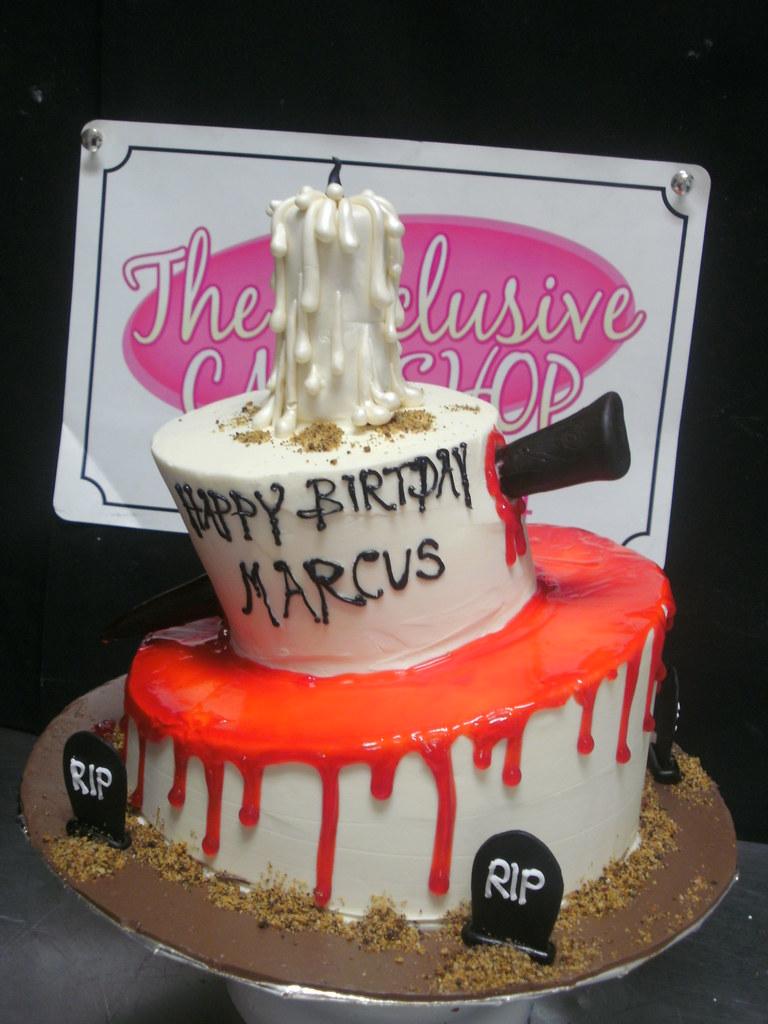 Buffy The Vampire Slayer Cake Exclusive Cake Shop Flickr - Slayer birthday cake