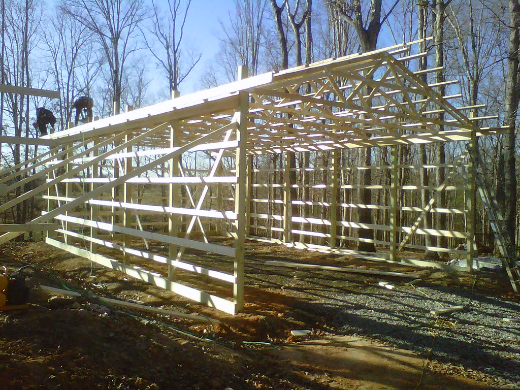 Diy pole barn 39 s hay storage karin has selected a for Hay pole barns