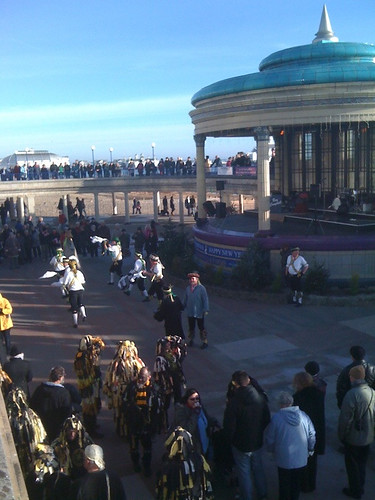 Bandstand with morrismen | by stevenfrench