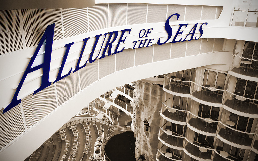 Allure of the seas logo deck 15 over boardwalk flickr - The allure of the modular home ...