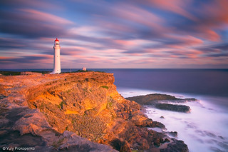Sunset at Cape Nelson | by -yury-
