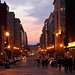 F Street NW at Twilight