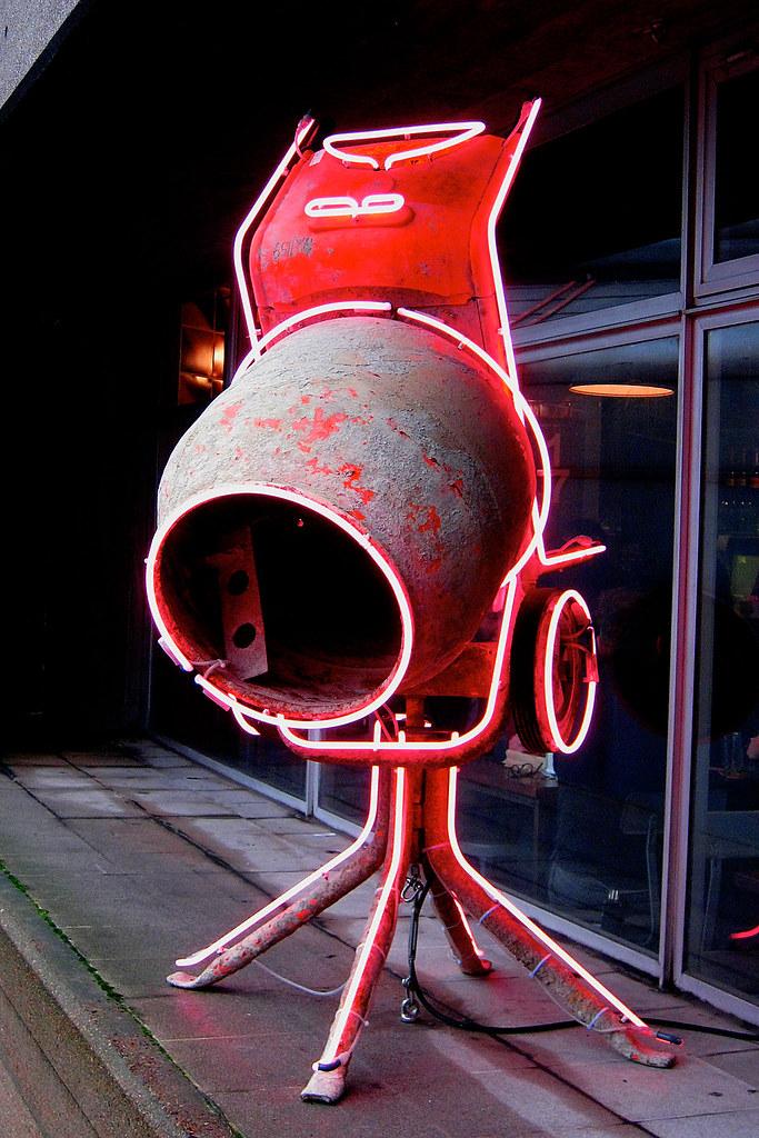 Concrete Mixer By David Batchelor Outside The Concrete