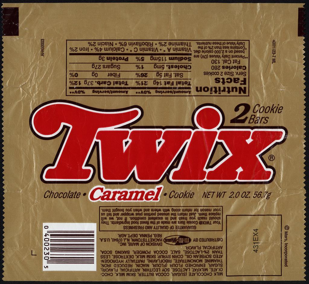 M Amp M Mars Twix Candy Bar Wrapper 1993 Still Looking