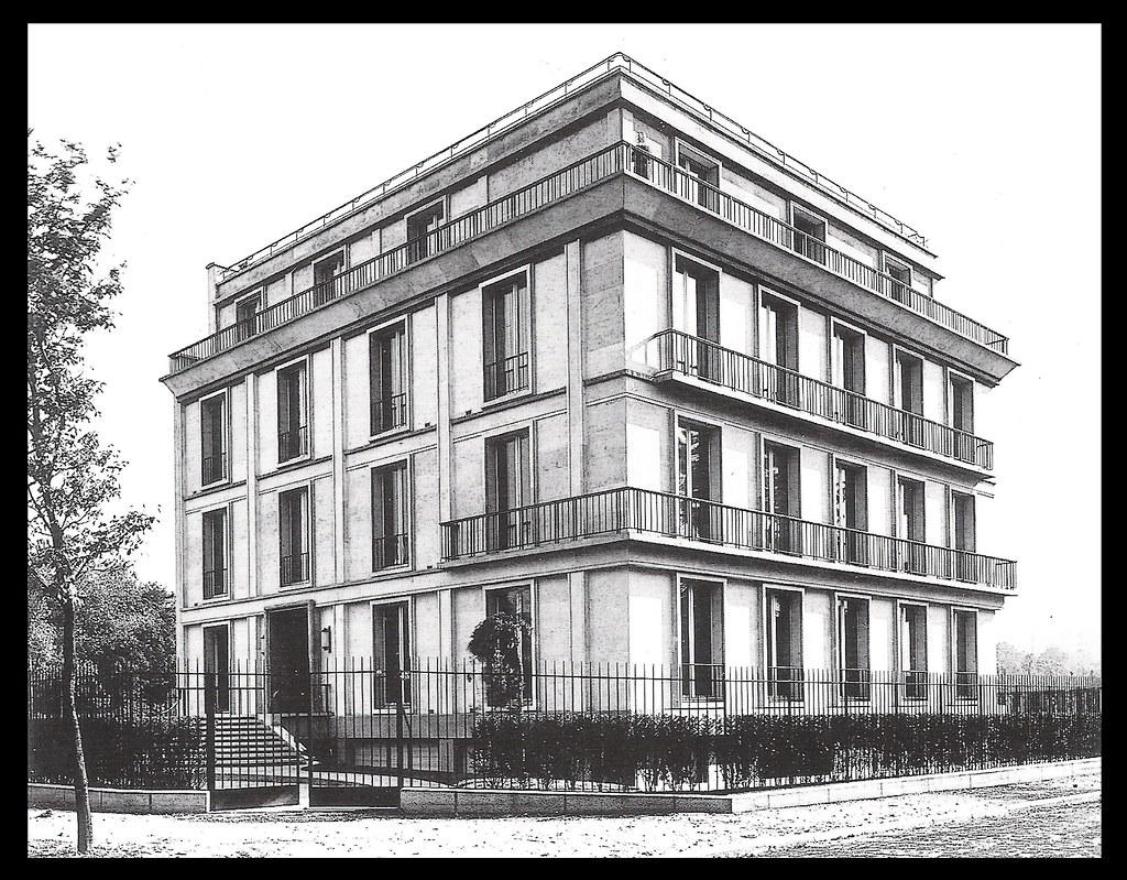 H tel lange en 1932 paris xvi architectes auguste for 3d architecture le havre