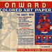 Onward Colored Art Paper