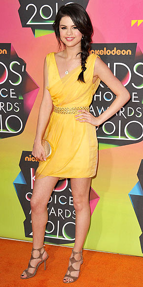 Selena Gomez Yellow Dress   kaykay080   Flickr