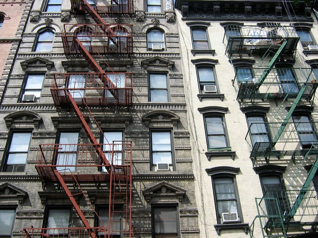 Fire Escape New York City 1940s : New york city fire escapes flickr photo sharing