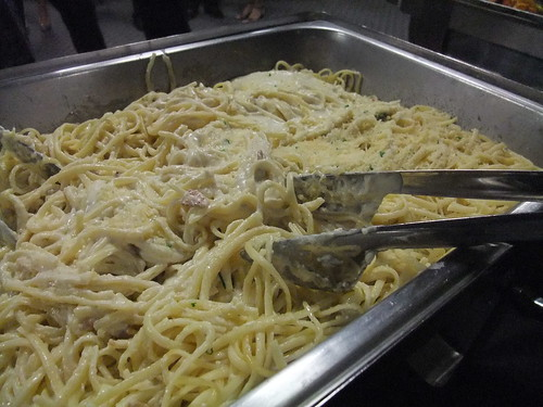 Pasta served at MSHS '90 Reunion | by swampkitty