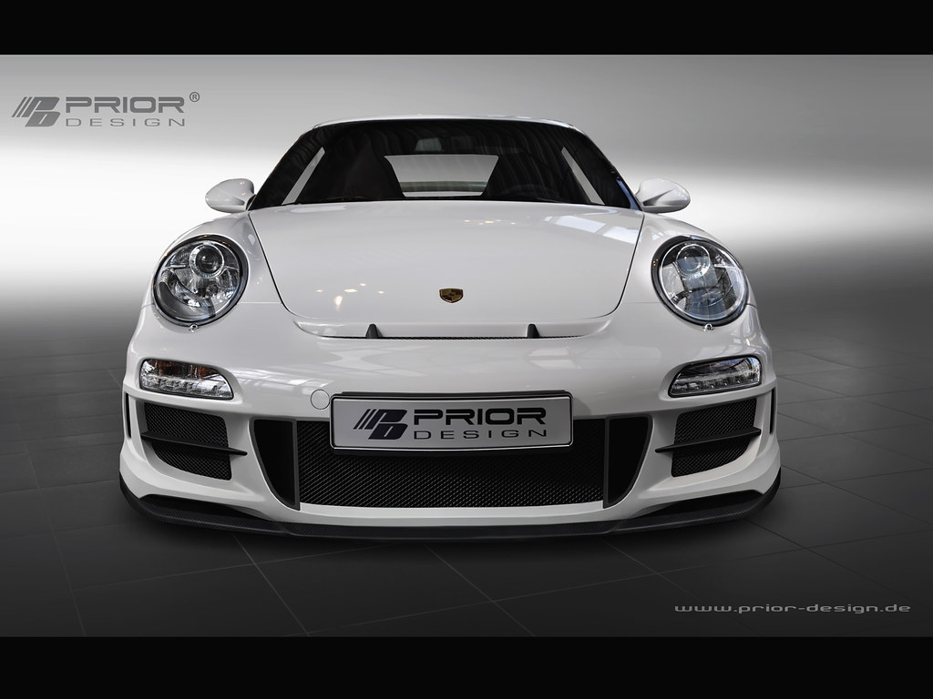 Prior Design Porsche 997 2 911 Carrera And Gt3 Body Kit F
