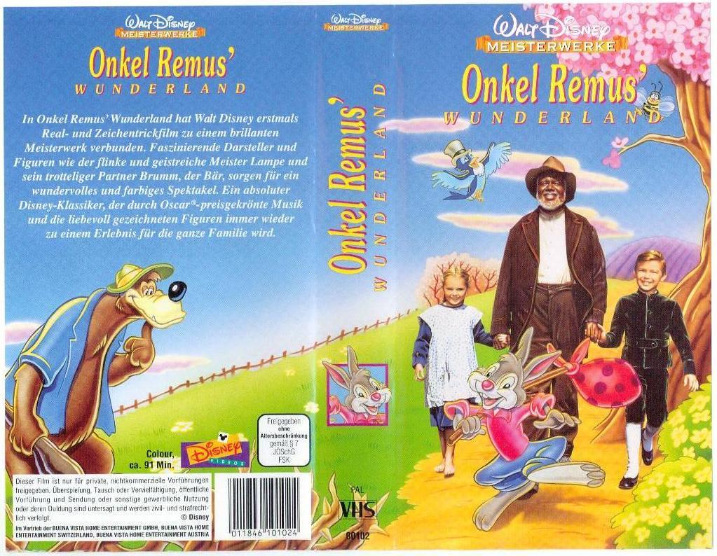Onkel Remus Wunderland Dvd