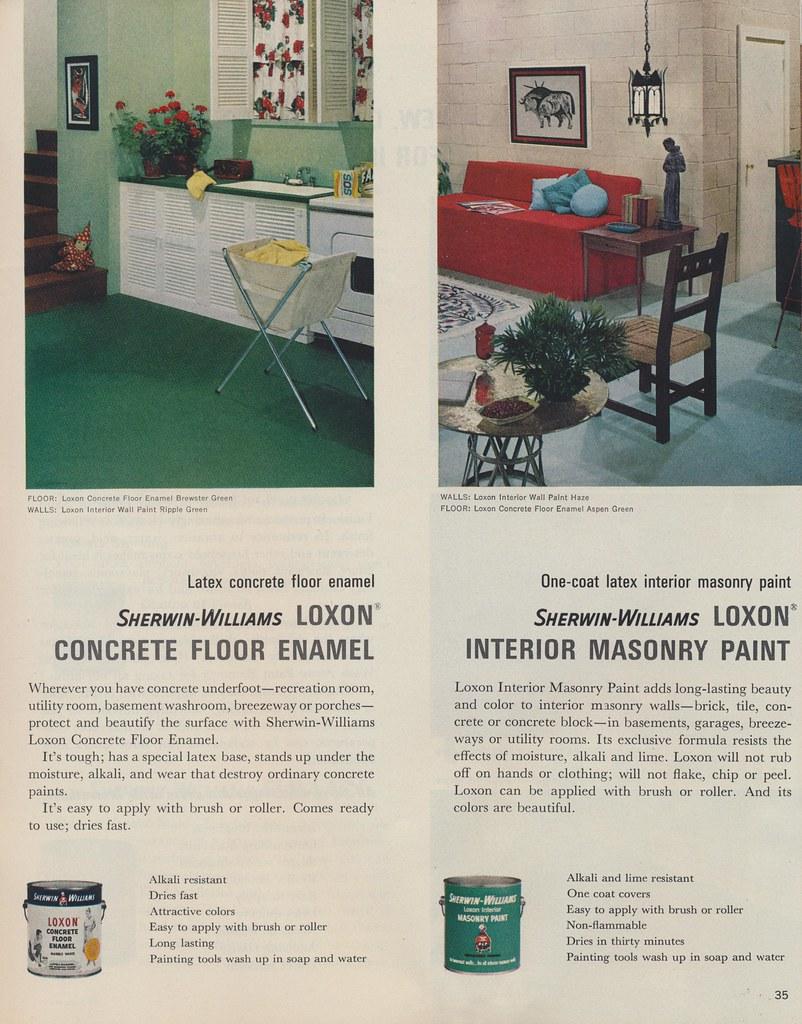 sherwin williams loxon concrete floor enamel page 35 of th flickr. Black Bedroom Furniture Sets. Home Design Ideas