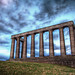 UK Edinburgh Calton Hill National Monument HDR
