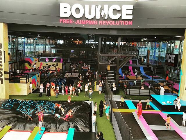 Bounce Abu Dhabi, Marina Mall