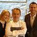 Catherine and Gareth with Ferran Adria at El Bulli Restaurant Menu (6)