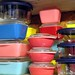 New and Vintage Pyrex Storage Containers