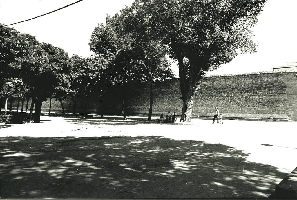 Vila jard n del recreo pared n del convento de santa an for Jardin del convento