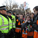 Student Protest. Police First Offence