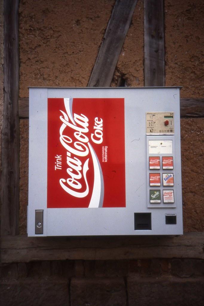 Trink Coca Cola Trinkautomat Wall Mounted Coke Vending M